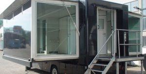 Mobile Büros in groß und klein.