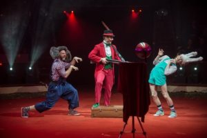 Without socks beim Circus-Festival Budapest 2018
