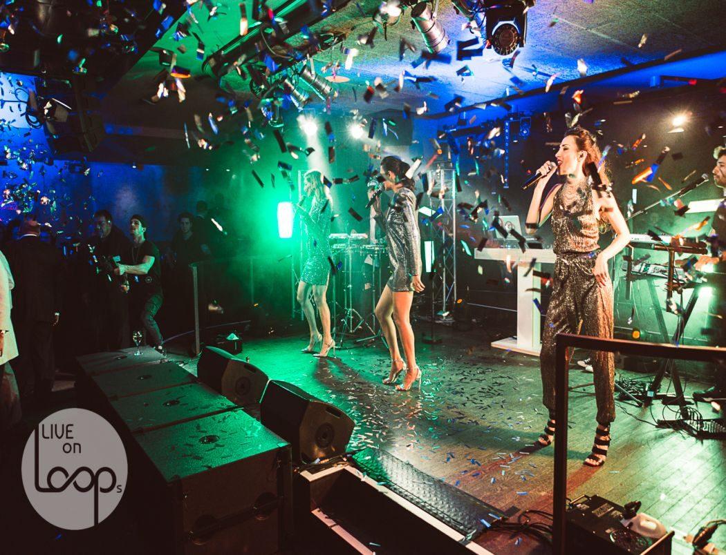 Live on Loops: DJ mit Musikern als Band für Events