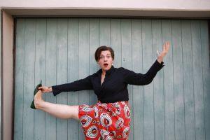 Nora Grominger in showcases: Artistik und Akrobatik