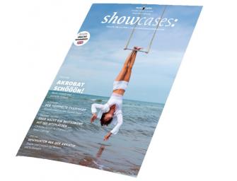Artistik und Akrobatik in der neuen showcases-Ausgabe