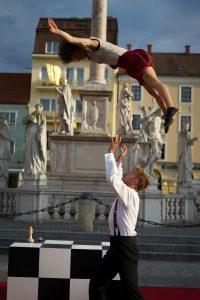 Partnerakrobatik für Events mit echten Profis.