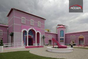 Das Barbie-Dreamhouse wurde für eine Roadshow entworfen.