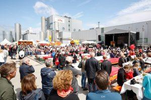 4.500 Menschen feierten das 125-jährige Bestehen von Zentis. © marc vollmannshauser