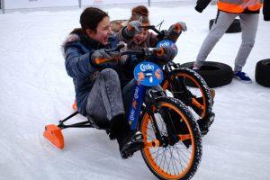Spaß auch für Nicht-Eisläufer: Das Drift Trike.