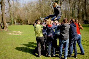 Teambuilding mit GPS-Touren und Rafting