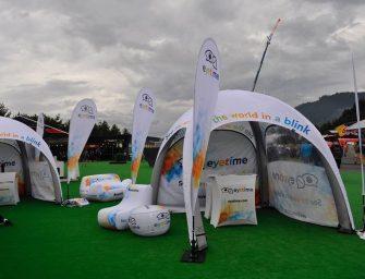 Aufblasbarer Pavillon für kleinere Flächen: Das neue XC 3 von X GLOO