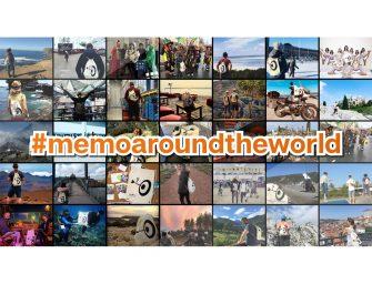 #memoaroundtheworld – der Eventsack erreicht sein Ziel!