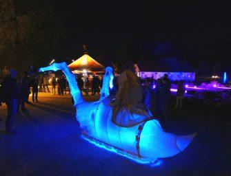 Walk-Act mit Licht: Die Lichtbringer vom Wattenmeer