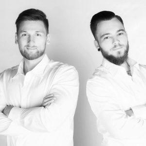 Die Geschäftsführer Andreas Thiele (l.) und Daniel Graffe (r.).