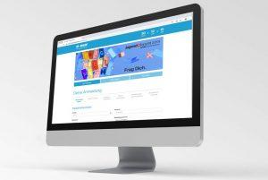 Auch die Erstellung von Landingpages übernimmt AirLST für das Teilnehmermanagement..