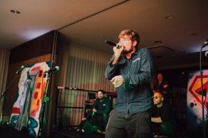 Hiphop don't stop: Rappen kann jeder - sagt Michael Reinhold.