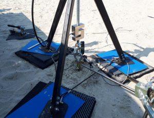 Hält - auch im Sand. Erdnägel von IGEL.