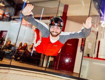 Indoor Skydiving: Höhenflug fürs Teambuilding