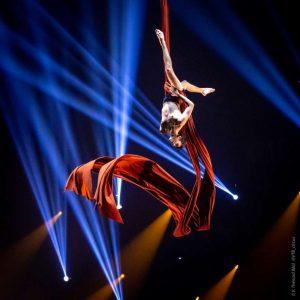 Diego Salles gewinnt beim Festival Mondial du Cirque de Demain 2019 Bronze.
