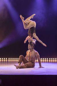 Julio und Maite aus Cuba leben ihren Traum beim Young Stage in Basel.
