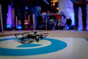 Punktlandung beim Teamevent mit Drohnen - sowohl im Spielszenario als auch bei der gesamten Veranstaltung
