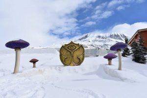 Märchenhaft - und kalt: Eine Herausforderung für die Wasserversorgung für Veranstaltungen.