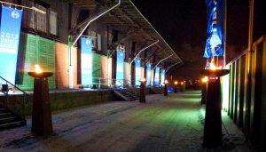 Autarker Hingucker: Flammensäulen von Vorlights