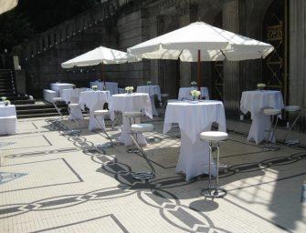 Dinnerveranstaltung in historischem Ambiente – Der Marmorsaal im Stuttgarter Weißenburgpark