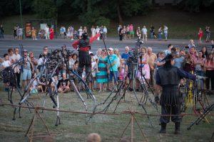 Festivals aus Künstleraugen