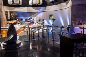 Den Veranstaltern bietet das Mercedes Benz Museum eine ansprechende Mischung aus Kultur und Wirtschaft.