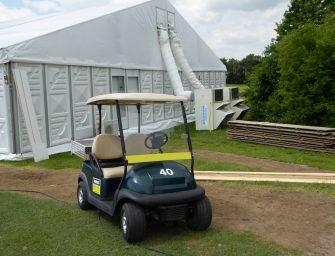 Klimatisierung von Events bei den BMW International Open von Polygonvatro