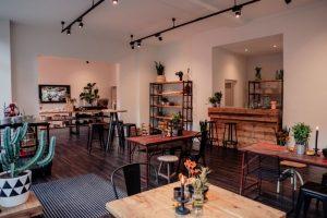 Einladend und modern: Der neue City-Showroom von Party Rent.