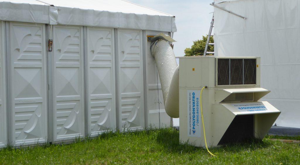 Event-Klimatisierung von Polygonvatro