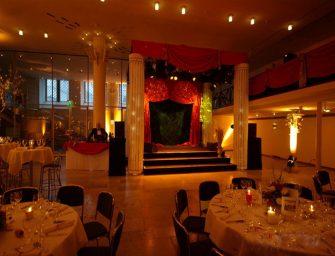 Veranstaltungs-Dekoration von Goldhut: Aus Räumen werden Event-Locations