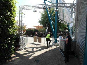 Zu wissen, wie viele Besucher auf einem Event sind, ist ein wichtiger Sicherheitsaspekt.