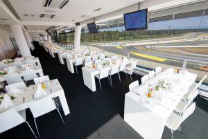 Lounge in einer der Location für Firmenevents am Hockenheimring.