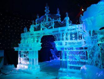 Mobile Kühlung von Delta Temp: Damit selbst Kunstwerke aus Eis schön kühl bleiben