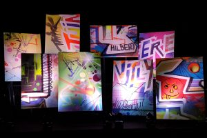 Kreative und spielerische Events mit Mehrwert sind für alle Zielgruppen möglich - zum Beispiel mit Büro-Graffitis