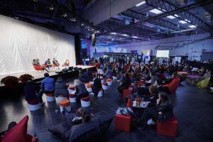 Während des Kongress-Teil des BrandEx konnten die Teilnehmer verschiedenen Vorträgen und Workshops zuhören.