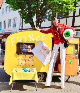 Interaktives Straßentheater mit Profi Jens Heuwinkel