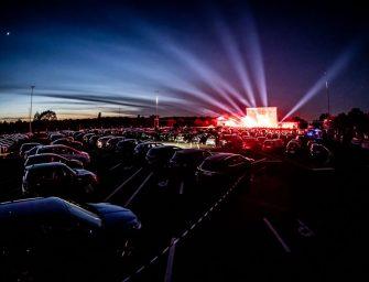 Autokino-Veranstaltungen in Corona-Zeiten: Beats und Blinker