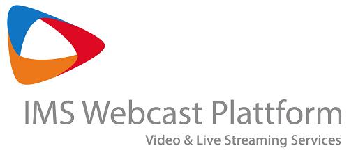 Über die IMS Webcast Plattform ist das Live Streaming von verschieden Veranstaltungsformaten möglich.