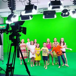 Auf dem Weg zum neuen Album: Videodreh im Greenscreen-Studio