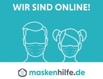 Mund-Nasen-Masken online bestellen bei EVEPROCOM: Hilfe statt Hüpfburg