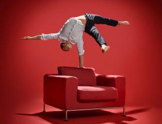 Handstand-Akrobatik als Showact für Firmenfeiern: einzigartig, modern und überraschend