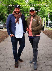 Phil und Timo Schulte - die beiden Inhaber der Eventagentur Schulte & Schulte aus Bergisch Gladbach.