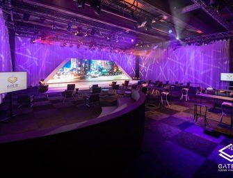 Hybride Eventlocation macht digitale Veranstaltungen in echter Live-Eventatmosphäre möglich