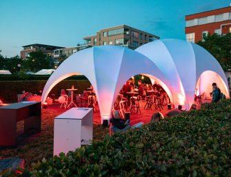 Kuppelzelte von b&b eventtechnik: Viel mehr als nur ein Schutz vor Sonne und Regen