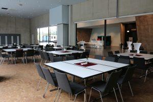 Bereits ab 10 Personen lohnt sich ein Einsatz in der Stadthalle Troisdorf.