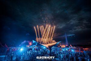 Die Lösung des Electrisize, zu einem sicheren Festival kann sich sehen lassen.
