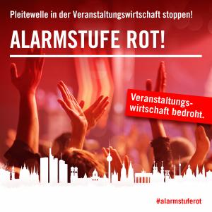 #AlarmstufeRot Großdemo Eventbranche