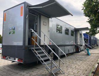 Büromobile mieten von FITOUT: Fahrende Arbeitsstätten ohne Baugenehmigung