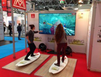 Simulatoren mit Hygienekonzept sorgen für unbegrenzten Fun auf Messe und Firmenevent