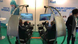 ... auch die Formel 1- und Sport-Simulatoren sind mit Hygienekonzept nutzbar.